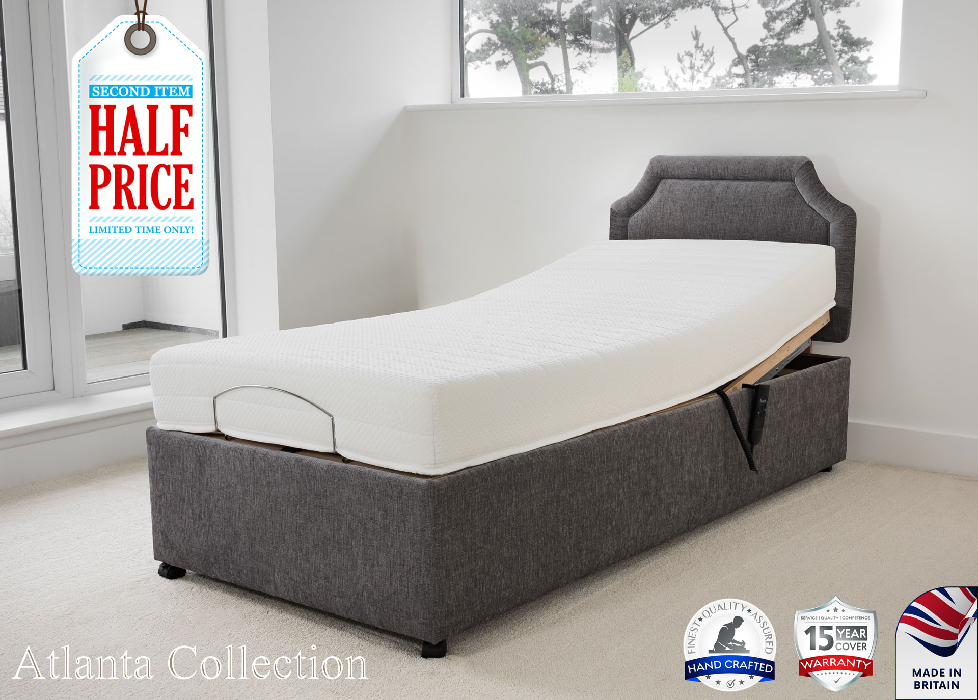 Athena Mobility | Atlanta Bed Collection