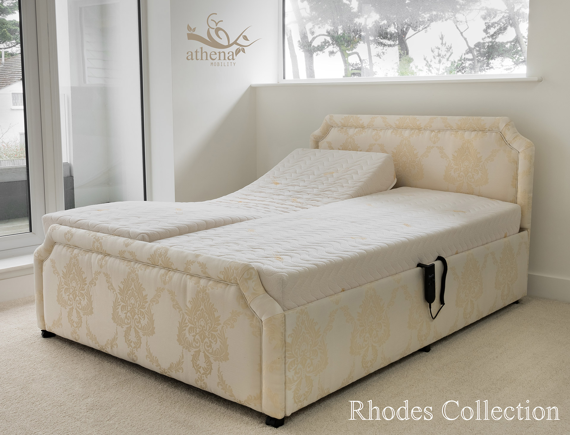 Athena Mobility | Rhodes Bed Collection