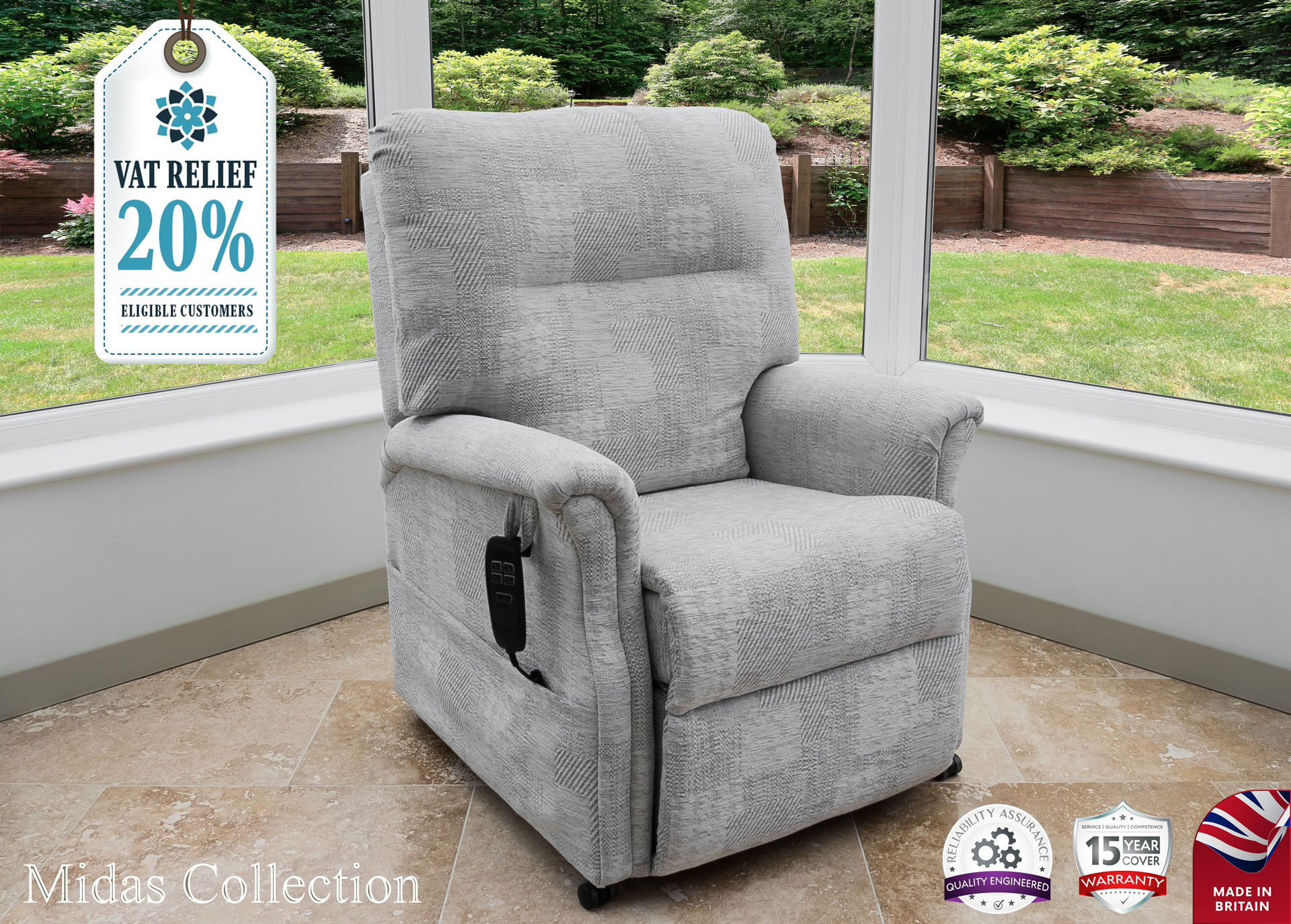 Athena Mobility | Midas Chair Collection